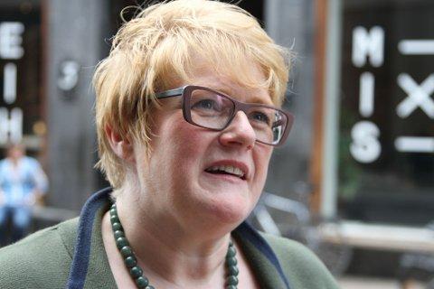 Venstre-leder Trine Skei Grande er skuffet over flyktningrespons.
