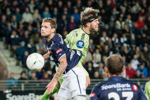 MATCHVINNER: Danske Patrick Mortensen scoret kampens eneste mål.