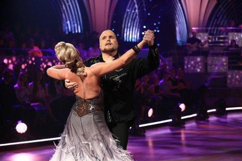 INGEN FASADE: Stian Thorbjørnsen viser en mer alvorlig side i danseprogrammet. Foto: TV 2
