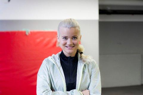 KJÆRESTE: Sandra Lyng har fått kjæreste.