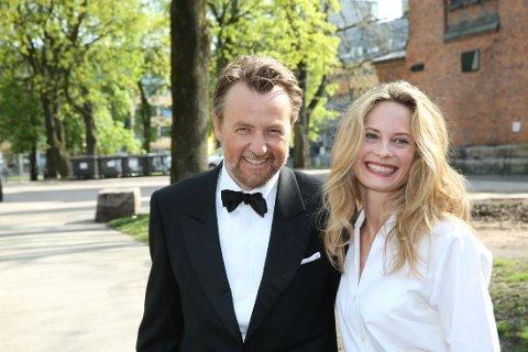 FORELDRE IGJEN: Maria Bonnevie og Frredrik Skavlan er blitt foreldre på nytt.