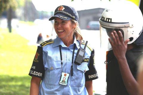 NYTT KART: Målet er at den endelige beslutningen om kartet over politi-Norge skal tas tidlig i desember. Bildet er tatt under Politiets dag i Oslo i høst.