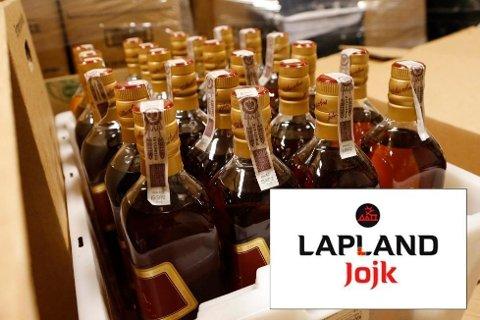 """En spritprodusent er anmeldt for diskriminering etter å ha kalt brennevinmerket sitt for """"Jojk"""". Illustrasjonsfoto: Lise Åserud / NTB scanpix (Innfelt: Faksimile fra Lapland Spirits)"""