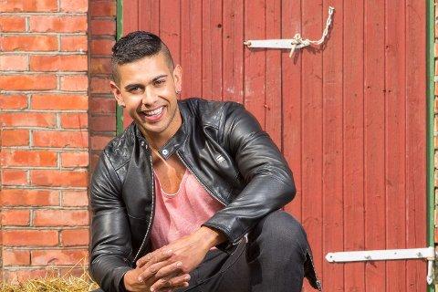 SINGEL: Ruben er singel og har sluttet å lete aktivt etter kjærligheten. Han tror den vil komme av seg selv.