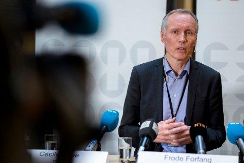 UDI-sjef Frode Forfang tror flere asylsøkere med avslag vil reise frivillig fra Norge i år enn i fjor.