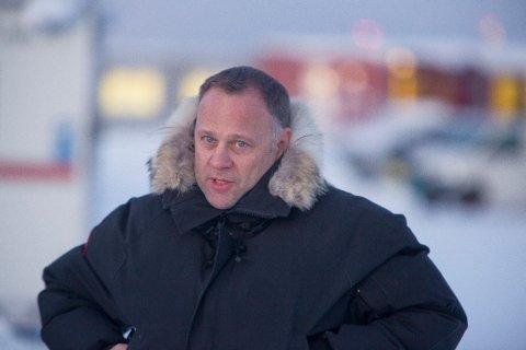 Lederen av Politiets utlendingsenhet i Kirkenes, Tor Espen Haga.