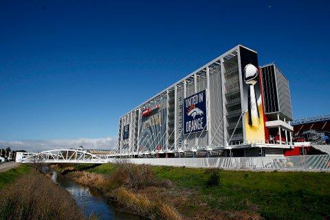 LEVI'S STADIUM i Santa Clara er vertskap for søndagens Super Bowl.