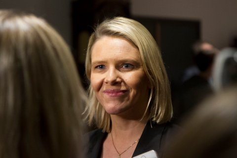 KONTROVERSIELT: Av de mest kontroversielle forslagene fra regjeringen og Sylvi Listhaug (Frp) er å stramme inn retten til familiegjenforening og kravet om fire års arbeid eller utdanning i Norge.