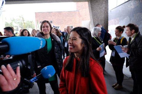 FORHANDLINGSLEDER: Miljøbyråd Lan Marie Nguyen Berg i Oslo leder forhandlingene med Akershus om E18-utbygging.