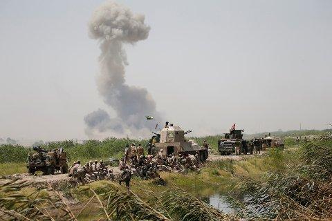 Den USA-ledede koalisjonen i Irak hevder å ha drept IS' leder i Falluja, Maher al-Bilawi.