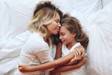 TRYGT I MAMMAS FANG: Hva skulle vi gjort uten mamma?