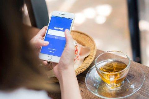 FACEBOOK: Over tre millioner nordmenn bruker Facebook.
