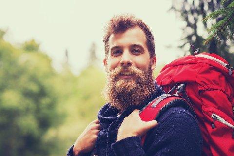HELT NATURLIG: Forskerne forteller at det er helt naturlig og vanlig at håret på hodet ditt og skjegget har forskjellige farger.