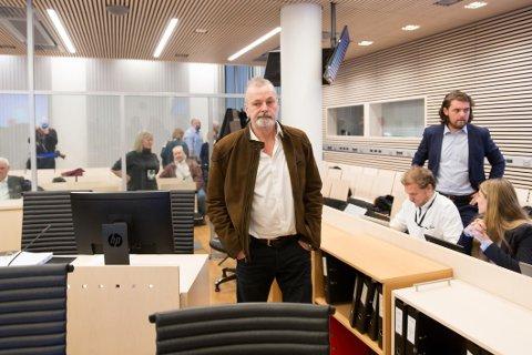 Eirik Jensen i Oslo tingrett da rettssaken mot ham og Gjermund Cappelen startet mandag 9. januar.