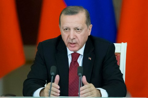 PRESIDENT: Tyrkias president Recep Tayyip Erdogan er ikke blid på nederlenderne, og kaller dem «levninger etter nazister og fascister».