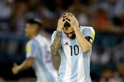 UTESTENGT: Lionel Messi har fått en fire kamper lang utestengelse fra Fifa.