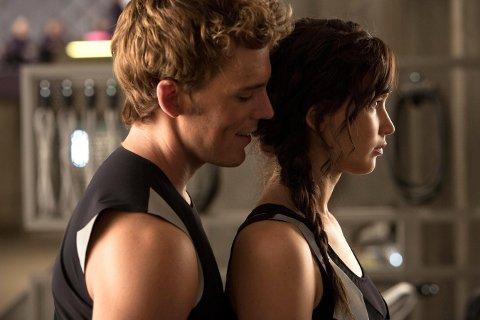 MOT KATNISS: Sam Claflin har en av de store rollene mot Jennifer Lawrence i The Hunger Games.