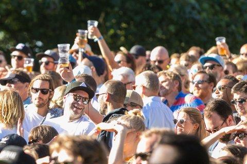 Øyafestivalen i Tøyenparken i Oslo for en uke siden.