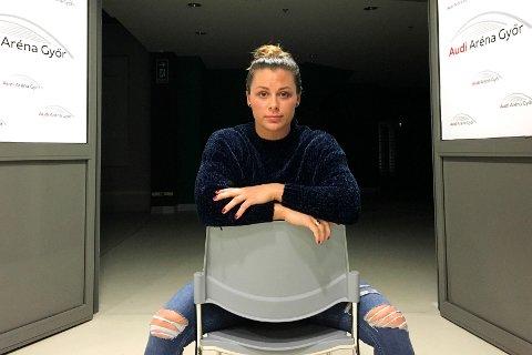 PÅ KRIGSSTIEN: Håndballprofil Nora Mørk.