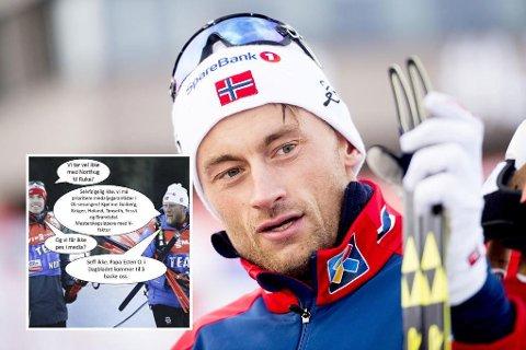PERSONALSAK: Norges Skiforbund ønsker ikke å kommentere Petter Northugs Instagram-stikk.