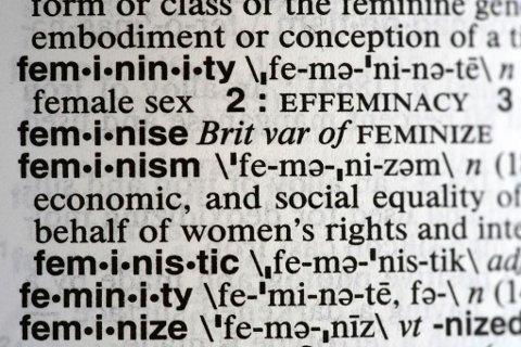 USAs største ordbok, Merriam-Webster, kårer feminisme til årets ord.