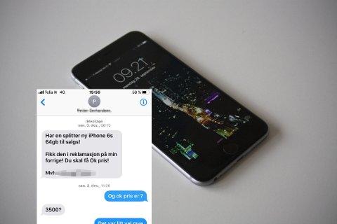 BLE SVINDLET: Ville du ha kjøpt mobiltelefon på denne måten? Mange lar seg lure av svindel på markedsplasser på nettet.