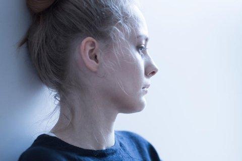28 prosent av jenter i videregående skole har det forskerne kategoriserer som høyt nivå av depressive symptomer. Illustrasjonsfoto.