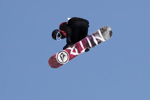 Torgeir Bergrem i Big Air-kvalifiseringen i Phoenix Snow Park under vinter-OL i Pyeongchang.
