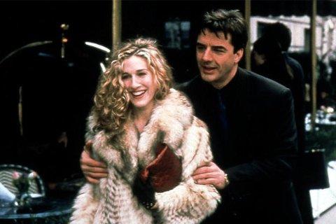 Carrie og Mr. Big fra Sex and The City.