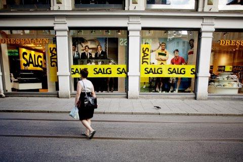 SLITER: Dressmann er bare en av butikkjedene til Varner som ikke innfrir økonomisk.
