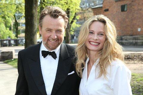 Fredrik Skavlan og Maria Bonnevie har fått sitt tredje barn sammen.