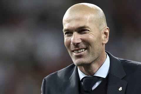 MANCHESTER UNITED: Zinedine Zidane er åpen for en jobb i England.