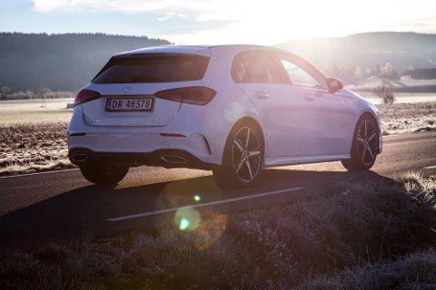 VELLYKKET: Den nye A-klassen legger inn en solid søknad om å kunne kalle seg kompaktklassens beste bil. Men det koster.