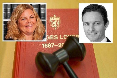Søsslenbarnene Hanne og Hans Peter er Norges to beste betalte advokater. Begge tjente cirka 33 millioner kroner i fjor.