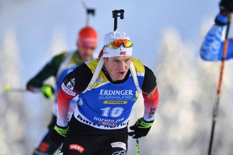 ANKERMANN: Vetle Sjåstad Christiansen fikk tilliten som Norges siste kort på skiskytterstafetten i Hochfilzen.