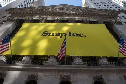 Snapchat fikk en brutal børsdag i New York med en nedgang på over 13 prosent onsdag.