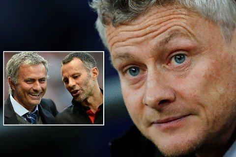 AVSLØRER SAMTALE: Ryan Giggs avslører at Ole Gunnar Solskjær hadde klare formeninger om hva Manchester United burde gjort annerledes da José Mourinho var sjef.