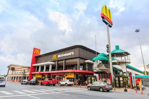 McDonald's tjener flere titall milliarder kroner i året på hamburgere og annen mer eller mindre feit mat.