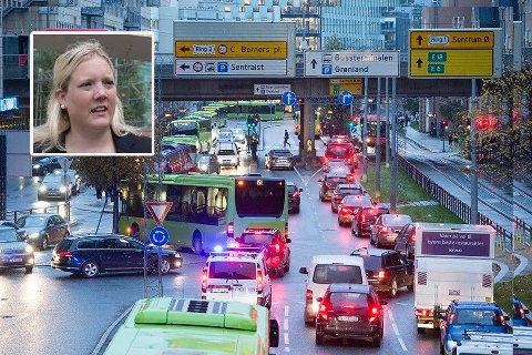 UAKTUELT: - Totalt uaktuelt, sier 1. kandidat til kommunevalget i Oslo for Frp, Aina Stenersen, til Nettavisen.