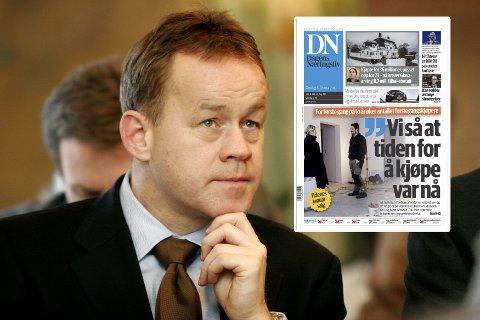 Amund Djuve er sjefredaktør i Dagens Næringsliv. Forretningsområdet «norske publikasjoner» defineres som det viktigste for Norges Handels- og sjøfartstidende (NHST).