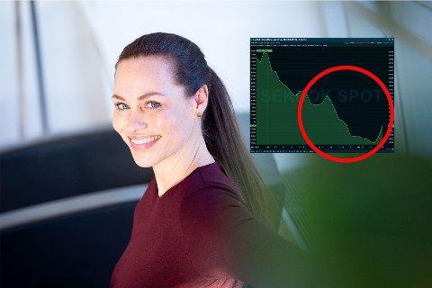 RÅD TIL HARRYHANDLERE: Cecilie Tvetenstrand (39) er forbrukerøkonomi Danske Bank, og har noen råd til norske harryhandlere.