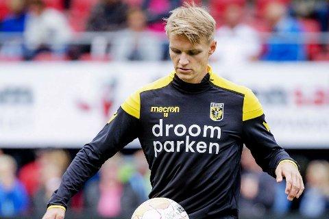 MÅL: Martin Ødegaard var avgjørende for Vitesse.