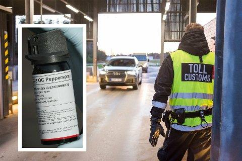 AVSLØRING: Norske tollere brukte millionbeløp på ulovlig pepperspray.