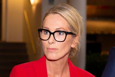 TAUS: Hvor Innovasjon Norge-toppen Anita Krohn Traaseth skal jobbe er fortsatt hemmelig.