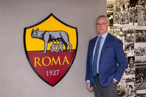 NY JOBB: Claudio Ranieri tar over i Roma.