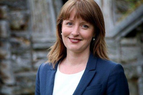 NY KRF-TOPP: Ingelin Noresjø er i dag fylkesleder i Nordland KrF og fylkesråd for næring og kultur i Nordland fylkeskommune.