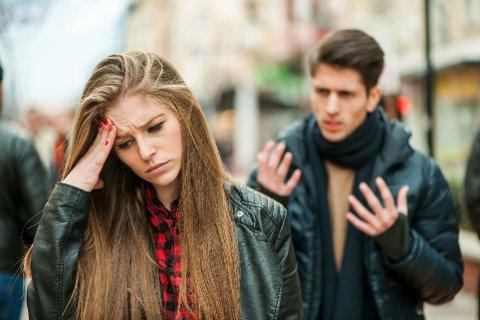 KRANGEL: Hvis det er dårlig stemning i forholdet, og du føler deg trist og nedbrutt, bør du vurdere å komme deg ut av det.