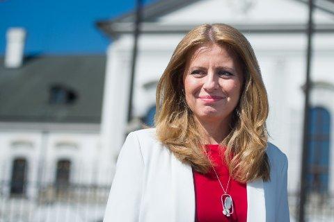 ANTI-KORRUPSJON: Slovakias nyvalgte president Zuzana Caputova ble innvalgt etter en hard kamp mot kriminalitet og korrupsjon.