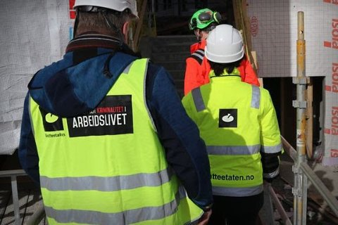 Skatteetaten har vært ute på kontroll blant 25 virksomheter i bygg- og anleggsbransjen i hele landet.