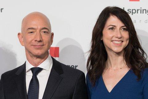 SKILLES: Skilsmisseoppgjøret mellom Amazon-grunnlegger Jeff Bezos og hans tidligere kone Mackenzie Bezos er nå klart.